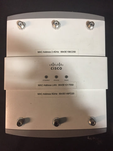 Cisco Aironet IOS Access Point AIR-AP1252AG-A-K9 with Power Injector