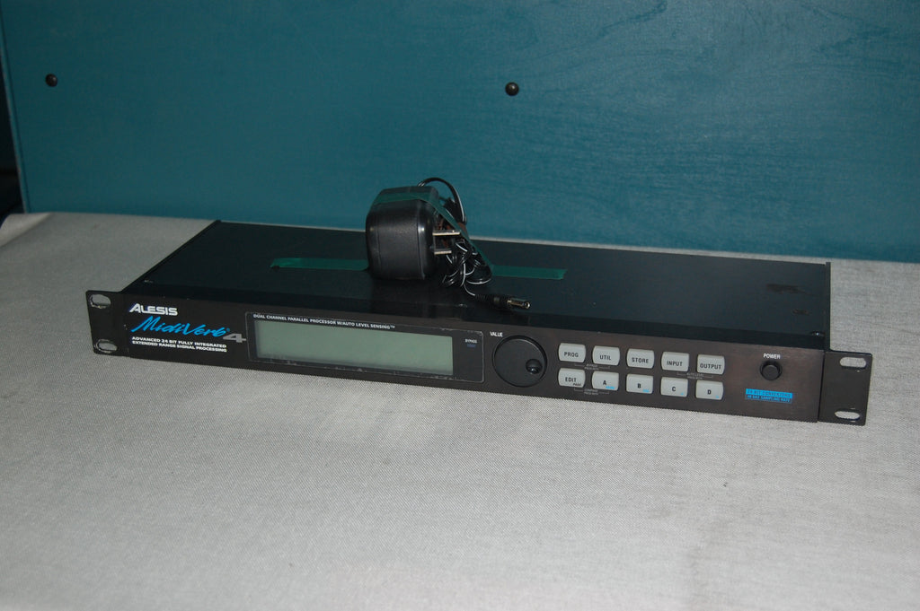 Alesis MidiVerb4 Dual-Channel Parallel Processor