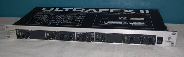 Behringer Ultrafex II EX3100 Multiband Sound Enhancement Processor