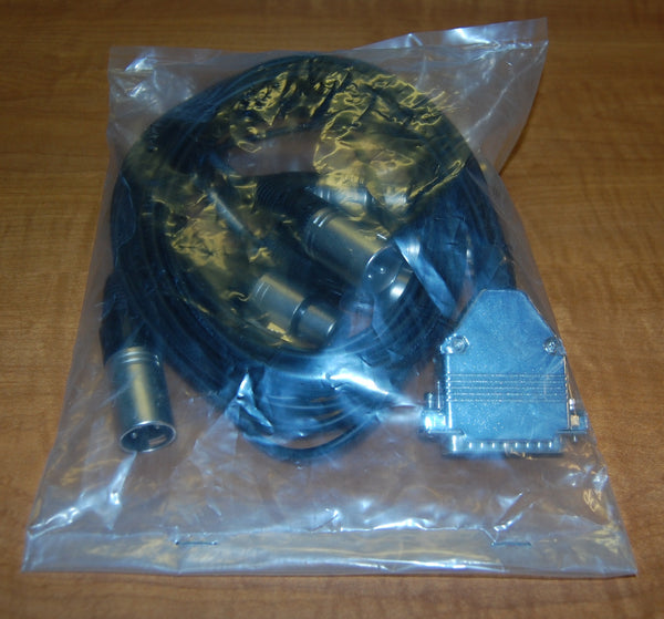 D Sub to XLR AES Breakout Cable.  Pinned to Yamaha/Lake Standard, BRAND NEW, Lot of 6