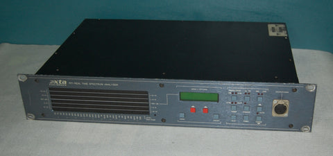 XTA RT-1 Real Time Spectrum Analyser, Used Professional Audio For Sale