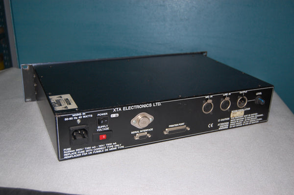 XTA RT-1 Real Time Spectrum Analyser