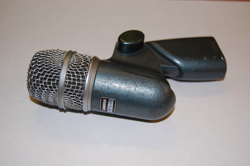 Shure Beta 56, with mic clip