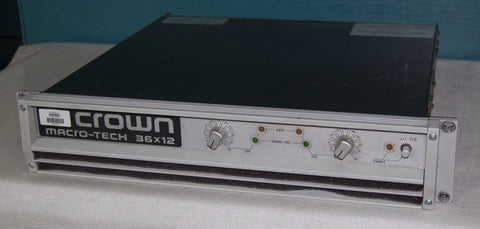 Crown 36x12 Professional Power Amplifier, Used Amplifiers for Sale