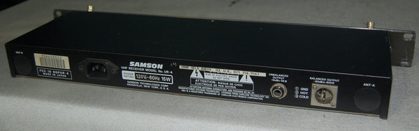 Samson UHF Receiver Model No. UR-4, $99.99