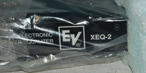 EV XEQ-2 Electronic Crossover/Equalizer, NIB, Used Pro Audio For Sale