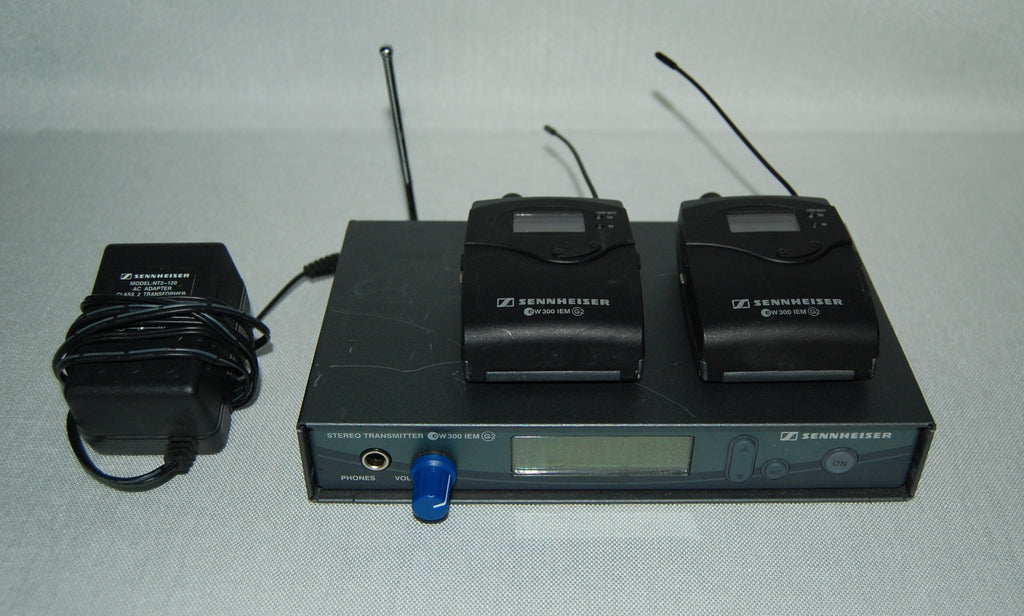 Sennheiser ew 300 evolution wireless IEM System, Includes Two (2) Receivers, A Range