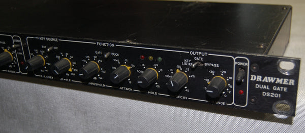 "Drawmer Dual Gate DS201, 0.25"" inputs and outputs"