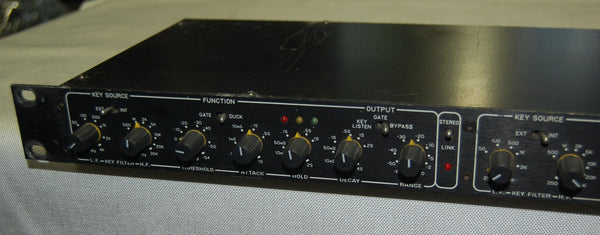 Drawmer Dual Gate DS201, XLR inputs/outputs
