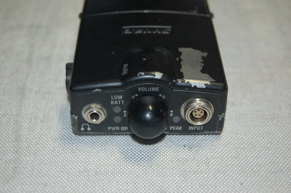 Shure, PSM600 IEM Hardwire Bodypack with Cable **CONTACT US FOR AVAILABILITY**