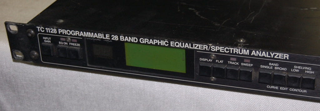 t.c. electronic 1128 Programmable 28 Band Graphic EQ / Spectrum Analyzer