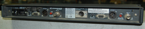 Sennheiser Wireless EM3532 Dual Receiver with Antennae and Cable Extensions, 700MHz