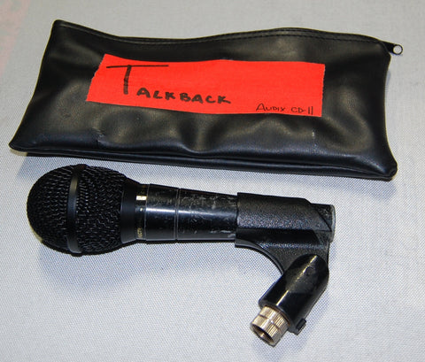 Audix CD-11 / F50 Talkback Microphones (Lot of 2), Used Mics For Sale