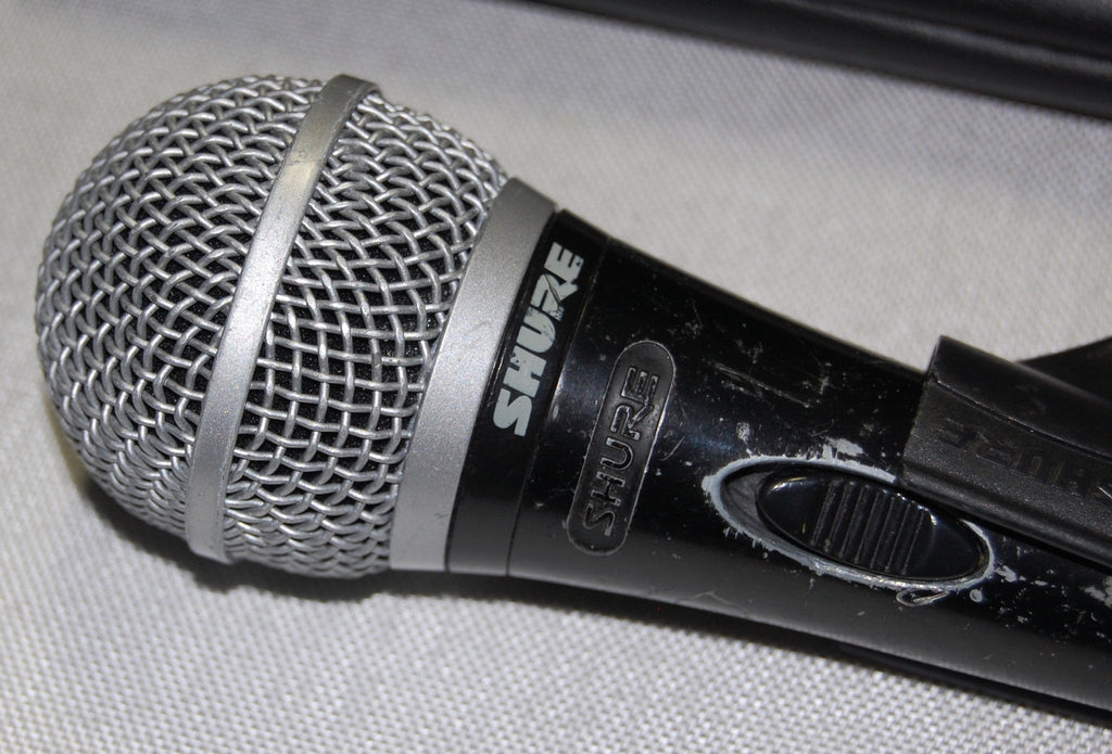 used shure pg58 cardioid dynamic vocal microphone for sale we sell professional audio equipment. Black Bedroom Furniture Sets. Home Design Ideas