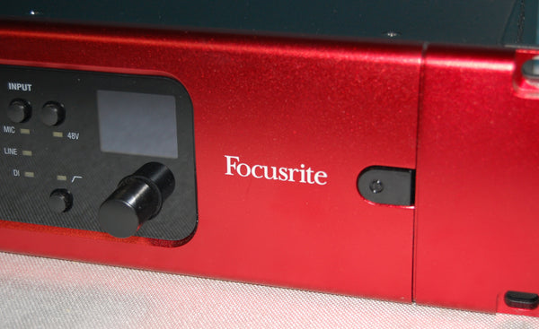 Focusrite RedNet-4 Mic Preamps, Line and DI, Dante Equipped