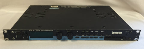 Used Lexicon PCM 80 Digital Effects Processor for Sale. We Sell Professional Audio Equipment. Audio Systems, Amplifiers, Consoles, Mixers, Electronics, Entertainment, Live Sound