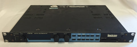 Used Lexicon PCM 90 Digital Reverberator for Sale. We Sell Professional Audio Equipment. Audio Systems, Amplifiers, Consoles, Mixers, Electronics, Entertainment, Live Sound
