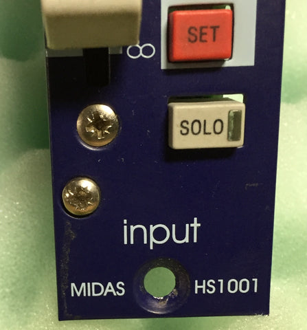 Midas HS 1001 Modules (Pair), MAKE AN OFFER, Used Pro Console For Sale