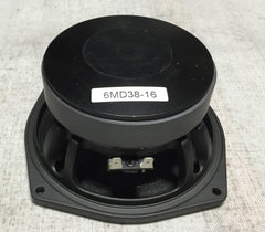 "B&C 6MD38-16, Pair of 6"" Speakers"