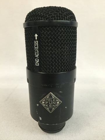 Used Telefunken M82 Large Diaphragm, Cardioid, Dynamic Kick Drum Microphone for Sale. We Sell Professional Audio Equipment. Audio Systems, Amplifiers, Consoles, Mixers, Electronics, Entertainment, Live Sound
