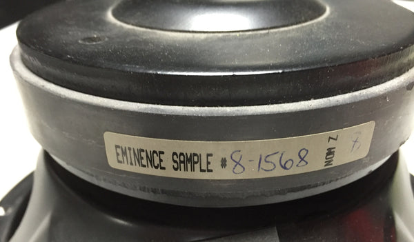 "Eminence 8"" Speakers, Model Unknown"