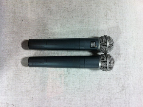 Non-Working Shure Beta 58 Wireless Microphones for Props