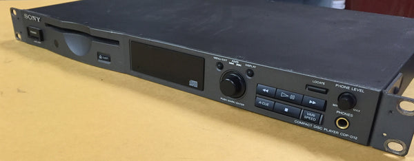Sony Compact Disc Player CDP-D12