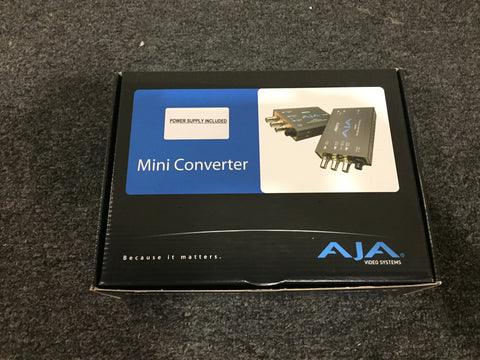 AJA Model HD5DA HD/SD Distribution Amp, New In Opened Box, $5 USA SHIPPING