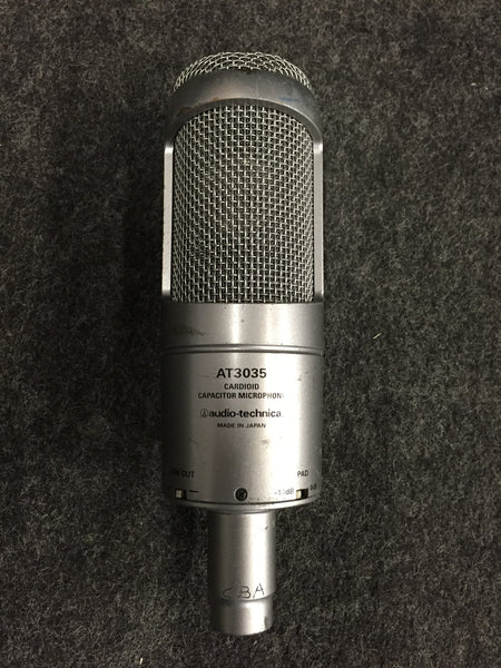 Audio-Technica AT3035 Cardioid Condensor Microphone w/ Shock Mount