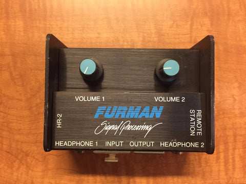 Furman HR-2 Headphone Remote Station, Used Microphones For Sale