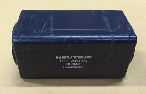Neutrik Speakon NL8MM, Sold in lots of four (4), Used Cable For Sale