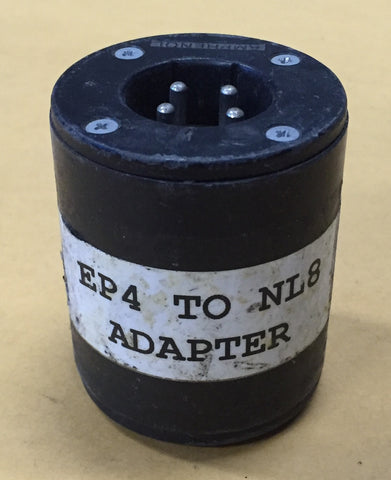 Amphenol EP4 to NL8 Barrel Adapter, Sold in lots of four (4)