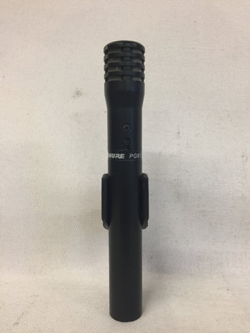 Used Shure PG81 Microphone for Sale. We Sell Professional Audio Equipment. Audio Systems, Amplifiers, Consoles, Mixers, Electronics, Entertainment, Live Sound