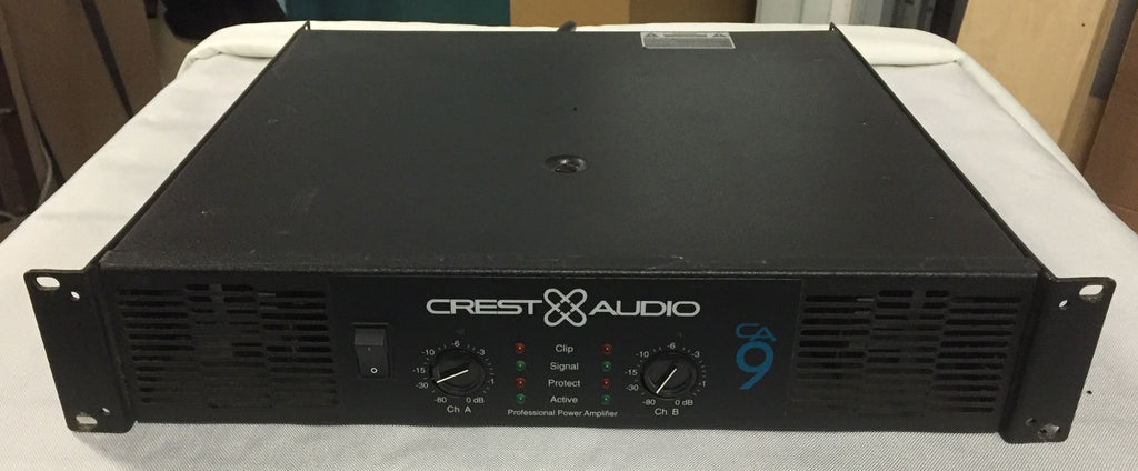Crest Audio CA9 Power Amplifier