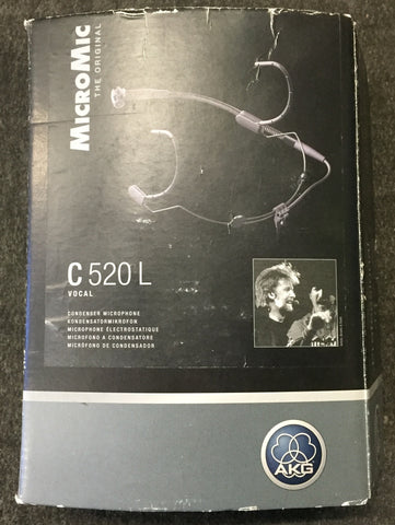 AKG Headworn Cardioid Condenser Microphone, Used Microphones For Sale