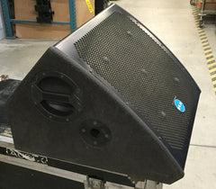 "VLA Powered Stage Monitors, 15"" Drivers, 220V, Sold as a Pair"