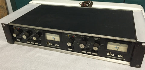 used dbx 160 dual stereo compressor limiter audio equipment for sale clair used gear. Black Bedroom Furniture Sets. Home Design Ideas