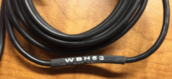 Shure WBH53 Wireless Headset Condenser Microphone, With LEMO FVB.00 Connecter,  Extra EQ Caps and Windshields