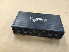 Sound Devices USBPre Microphone PreAmp (Not Win7-64 Compatible)