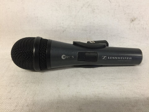 Sennheiser e815S Switched Microphone with Mic Clip, Lot of Three (3)