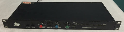 dbx 160 XT Compressor/Limiter, Used Pro Audio Equipment For Sale