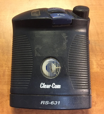 Clear-Com RS-601 Single Channel Beltpack, Used Pro Radios For Sale