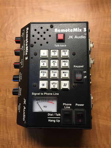 JK Audio RemoteMix 3 Remote Phone Line Mixer, Used Console For Sale