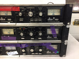 Lot of 3 DBX 160 Dual Stereo Compressor/Limiter Units in Repair