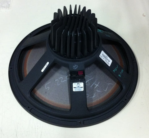 "JBL 2258HPL Neodymium 18"" Speaker, 8 ohm. Used pro audio equipment for sale: amps, consoles, mics, analog & digital audio, EFX, line array, used speakers."