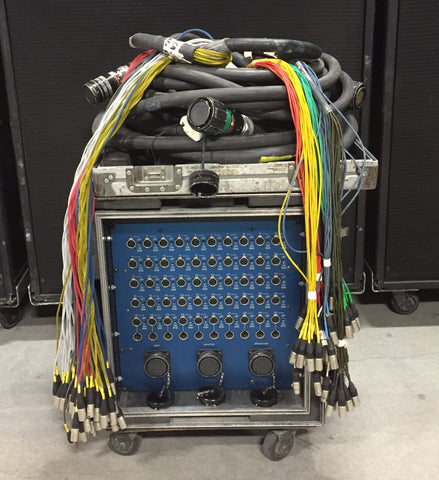 Passive Splitter, 50 Channel, With Cables, in 12 Space Rack