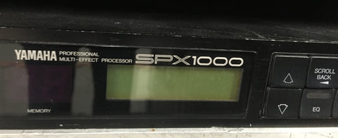 Yamaha SPX1000 Processor. Used pro audio equipment for sale: amps, consoles, mics, analog & digital audio, EFX, line array,used speakers, data networking
