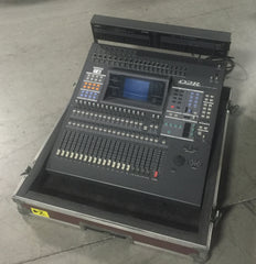 Yamaha 02R Mixing Console with MB02 Peak Meter Bridge & Touring Case (OYO1066)