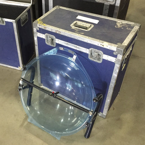 Crystal Partners Big Ears Parabolic Dish in Heavy Duty Freight Case (Larger Style)