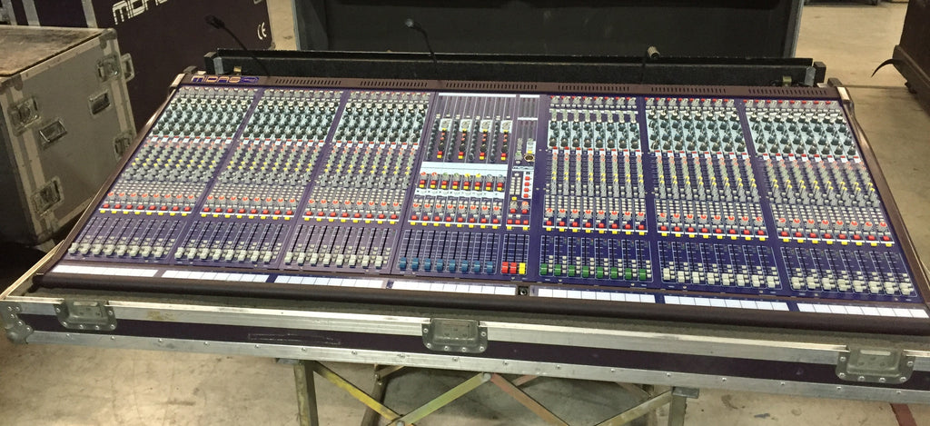 midas verona 480 mixing console with touring case console for sale clair used gear. Black Bedroom Furniture Sets. Home Design Ideas